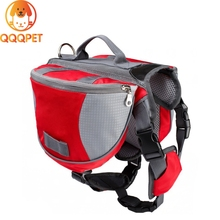 Outdoor hiking pack carrier traveling pet dog carry bag