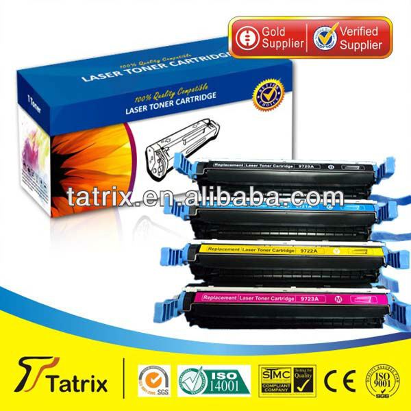 Compatible Toner Cartridge for HP 9720A 9721A 9722A 9723A for HP Toner Cartridge,Wholesale Toner From Manufacturer High Quality