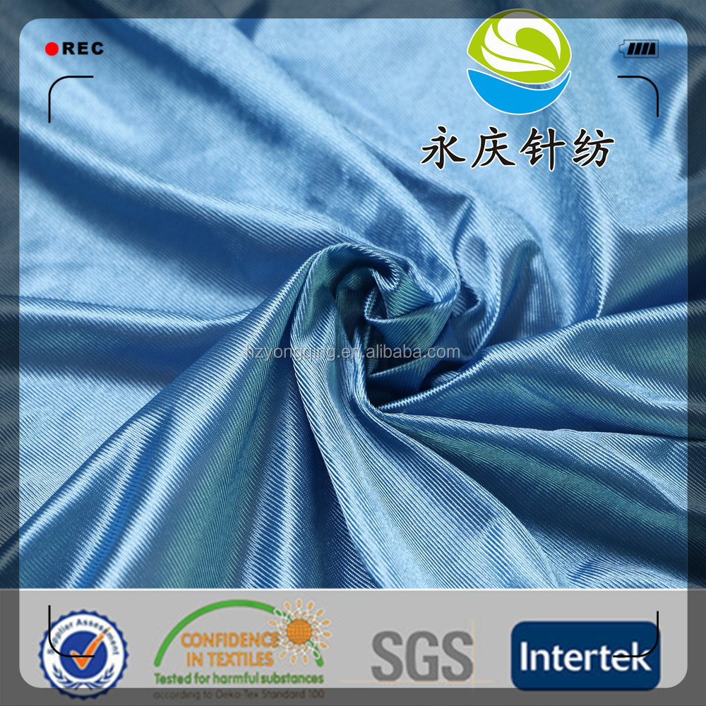 100% polyester dazzle kung fu fabric for chinese wushu association