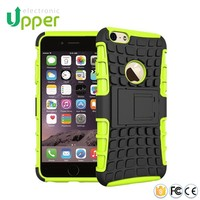 Mobile phone back cover new arrival smart hybrid rugged heavy duty armor kickstand case for iphone 6 6 plus 4 4s 5 5s 5c