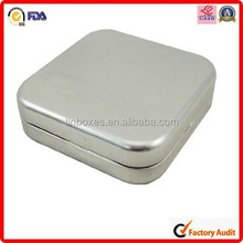 packing printing box tin metal cute cd dvd case