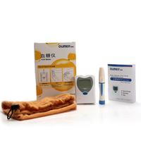 Digital memory data uric acid meter glucometer test strips