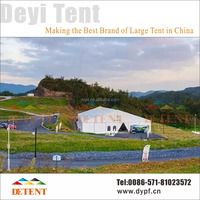 Wholesale Big Outdoor Party Tent with Lining Curtains