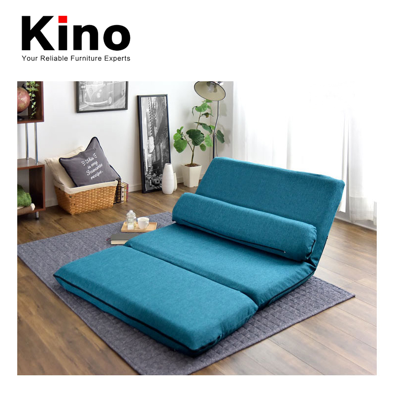 folding fabric sofa bed, japanese style floor sofa double bed, space saving sofa cum bed furniture