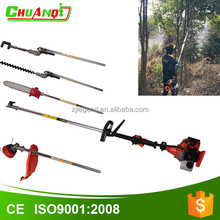 Gasoline engine lawn mower small tree brush cutter machine with spare parts