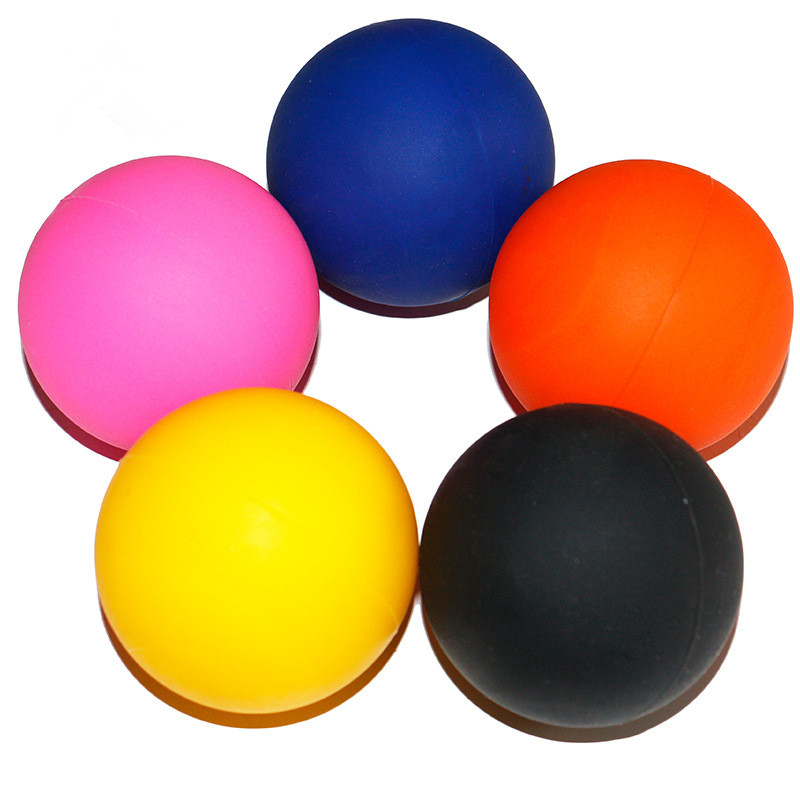 Colorful Small Lacrosse Rubber Massage Ball