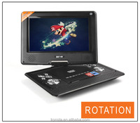 On Sale multimedia portable evd dvd player with TV FM USB SD Game portable evd dvd player price