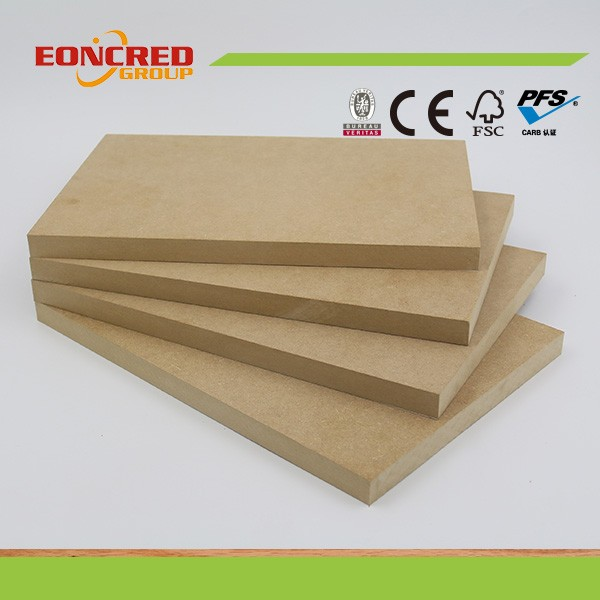 5 mm white melamine faced MDF board for interior design
