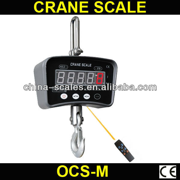 commercial weighing LED display 500kg OCS-M small scale production