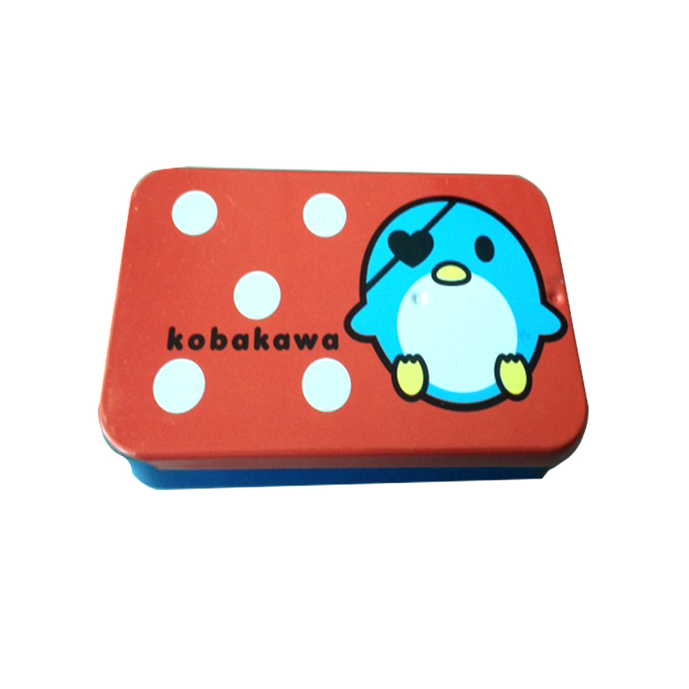 Wholesale Decorative Cute Small Slide Top Metal Tin Boxes