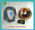 Automotive 8 circuit wiring harness kits manufacture CNCH