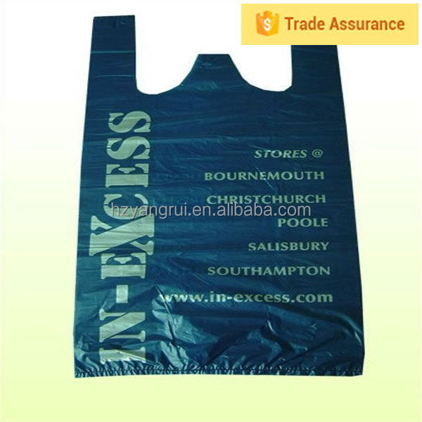 Free samples Oem Design Recycled pe t-shirt polybags,plastic t-shirt bags,t shirt bag hot sale
