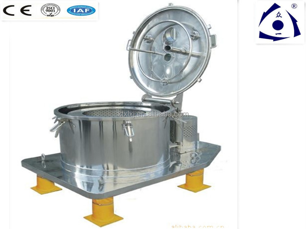 Sugar Industrial Extraction Separation Centrifuge