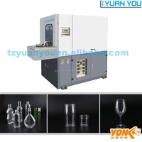 pet preform manual automatic blow molding machine 2000ml with 1 cavity