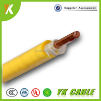 Heat resistant PVC insulated fireproof electrical wire