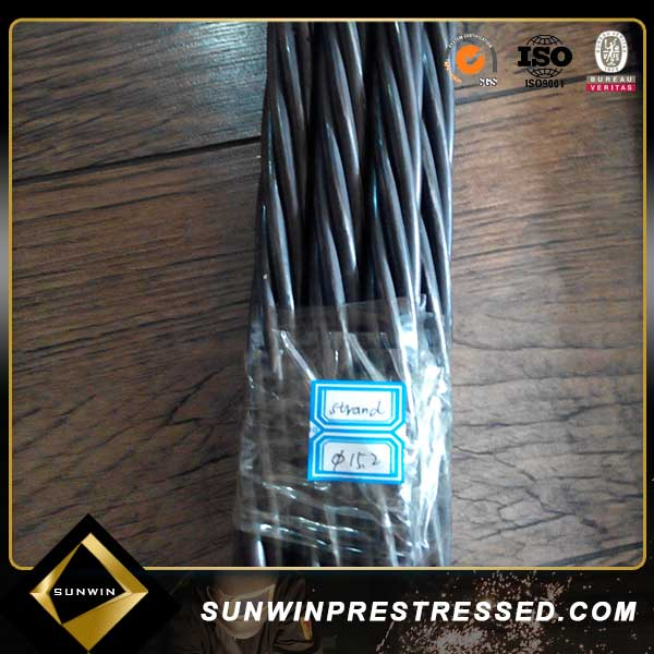 SWRH 82B Wire Rod low relaxation non allow 7 wire pc steel strand/ building materials