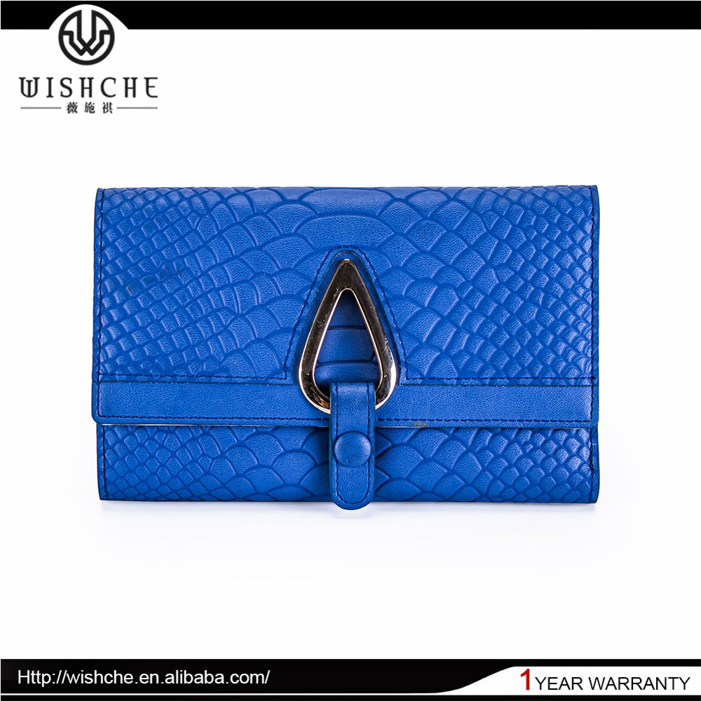 Wishche 2015 Latest Design Italian Leather Purses Wholesale Manufacturer W109