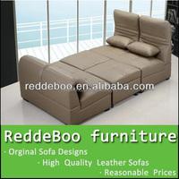bedroom genuine leather sofa bed mechanism