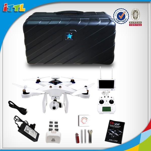 2015 New Products! 5.8G GPS FPV Auto Follower CX-22 Rc Quadcopter With 1080P Camera