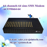 8/16/32/64 channel send and receive sms online server goip modem 3g ethernet gateway
