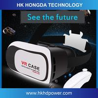 Multifunctional virtual reality glasses case 3d glasses case for mobile phone accessory