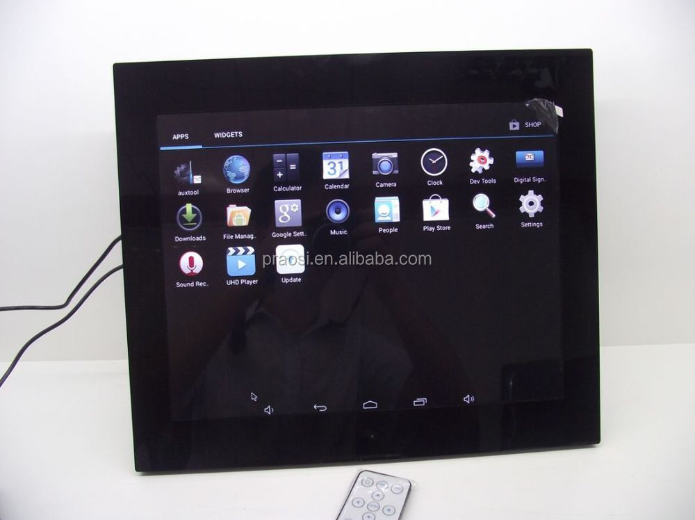 15'' Inch WiFi Cloud Digital Photo Frame Android App, Email, Facebook, Dropbox, Instagram, Flicker