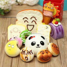 2017 Wholsale 30PCS Slow Rising Stress Relieve Soft Kid Squishy Toy