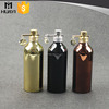 125ml colored coating aluminum spray bottles wholesale with clip