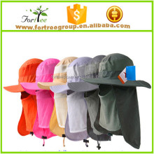 protective removable outdoor sun <strong>hat</strong> jungle fisherman fishing <strong>hats</strong>