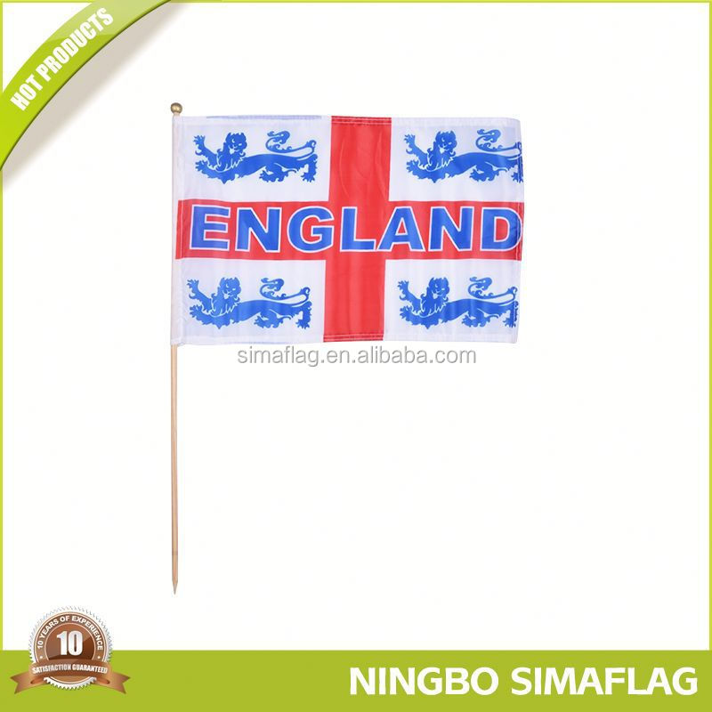 Professional mould design factory directly european union eu blue stars hand flag sport flag