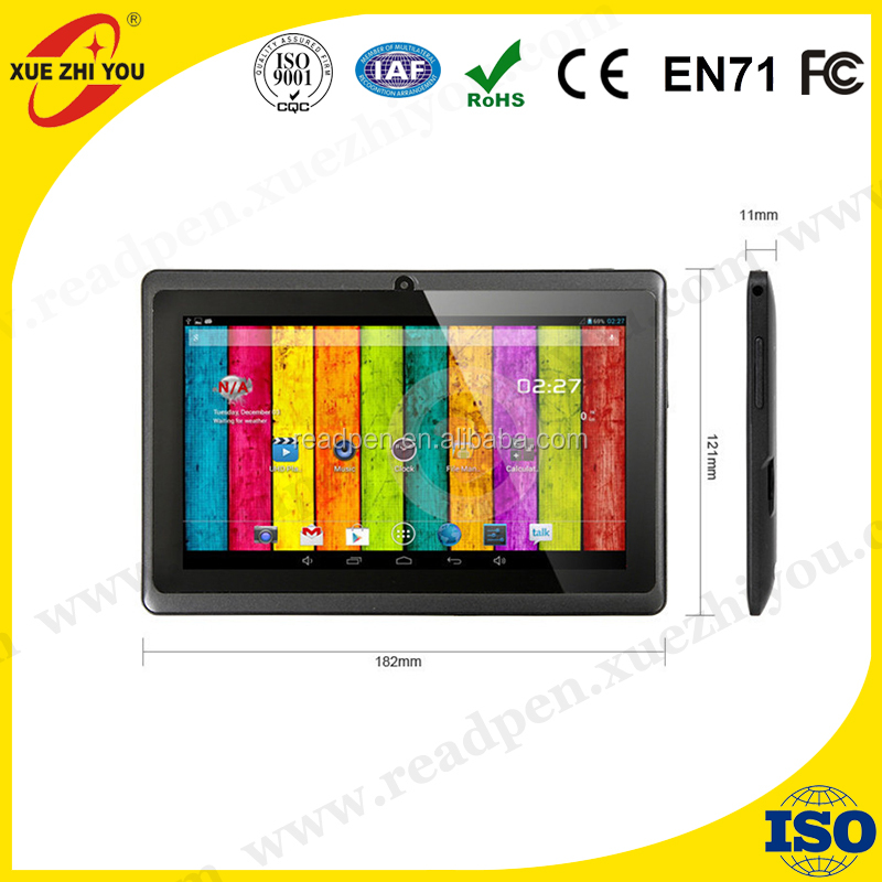Leather Case Android 4.4 Tablets pc Quad Core WiFi Dual Cameras Bluetooth 1GB 16GB 7 inch Tablet pc Android tablet