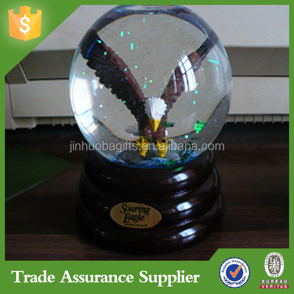 Resin Crafts Decorative Snow Globe Souvenir Gift Birthday Water Globe