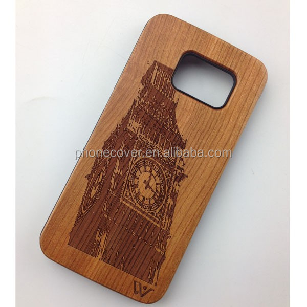 100% natural wood phone cases&covers for Samsung S7 Edge Plus,wood phone cases For Smart phone