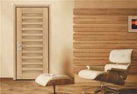 Youbang cheap bedroom door best price bathroom door for Middle East free sample pvc panel durable wooden door