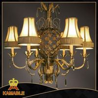 large art glass chandelier lights for project