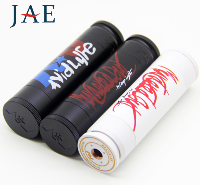 2016 new hot selling mechanical mod 24mm murdered out able mod vs 1:1 clone scndrl mod