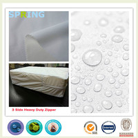 waterproof polyester knitted pe backing lamination cheap polyester fabric rolls
