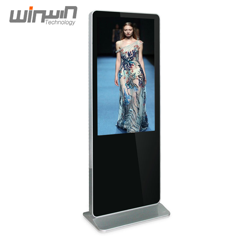 Factory Direct Sale 43inch Floor Standing Digital Signage <strong>Advertising</strong> with Free AD Software