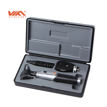 Smart mini fiber optic otoscope ophthalmoscope Diagnostic Set