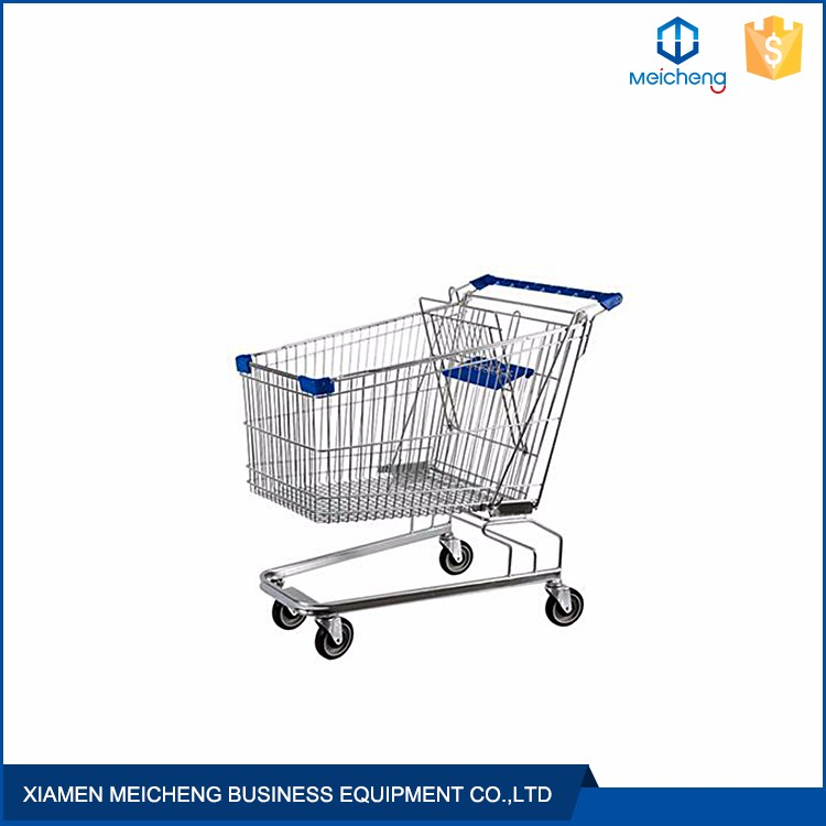 Great quality steel multifunctional steel super large supermarket shopping trolley