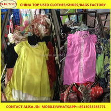 dongguan used clothing warehouse sale used clothes by kg summer used clothes in bales price