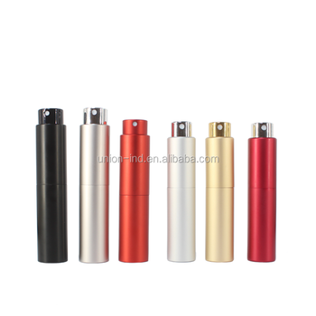 twist up aluminum perfume atomizer 8ml