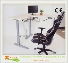 ergonomic study table adjustable desk hand crank china container office
