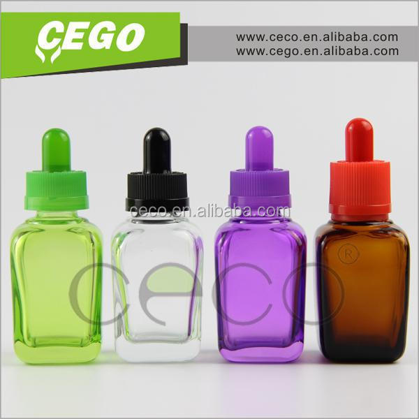 factory price PS tube for 30ml e liquid glass dropper bottle