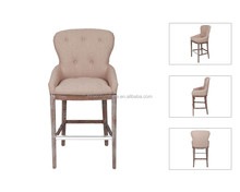 High Back Armchair Wood Dining Chair