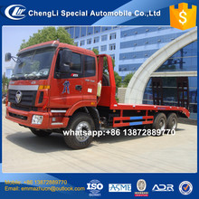 5 ton to 40 ton china factory manufacture foton new flat bed tow trucks on sale