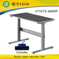 Reception computer desk used office furniture for sale electric lifting table