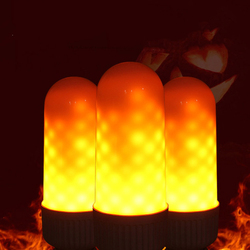 LED Flame Effect Fire Light Bulbs,3 modes Creative with Flickering Emulation Lamps,Simulated Nature Fire in Antique Lantern