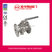 150LB 2PC CF8M CF8 Flanged Ball Valve