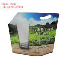500ML laminated material Easy carry stand up milk pouch designs plastic liquid milk bags milk storage bag with spout